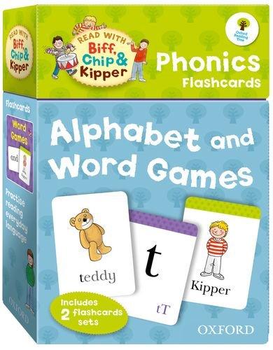 Read With Biff,Chip & Kipper Phonics Flashcards ( )