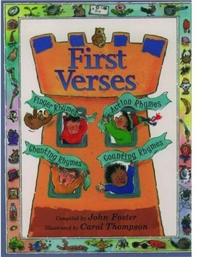 First Verses By Edited by John Foster