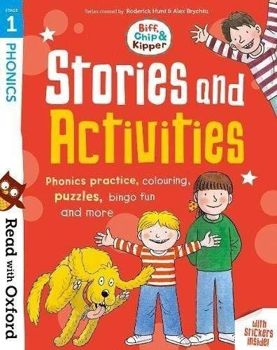 Read with Oxford: Stage 1: Biff, Chip and Kipper: Stories and Activities By Roderick Hunt