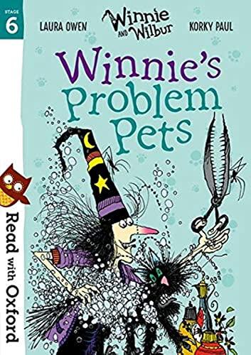 Read with Oxford: Stage 6: Winnie and Wilbur: Winnie's Problem Pets von Laura Owen