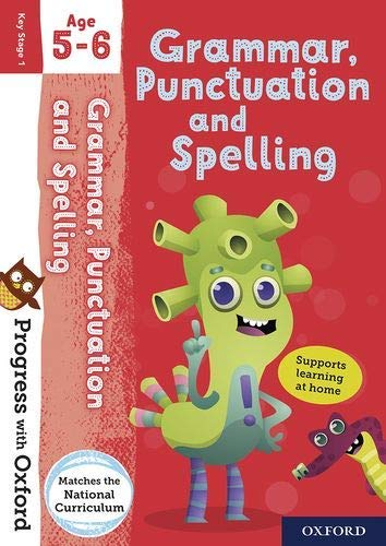 Progress with Oxford: Grammar, Punctuation and Spelling Age 5-6 von Jenny Roberts
