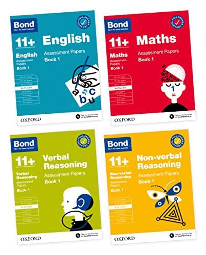 Bond 11+ English, Maths, Verbal Reasoning, Non Verbal Reasoning: Assessment Papers By Sarah Lindsay