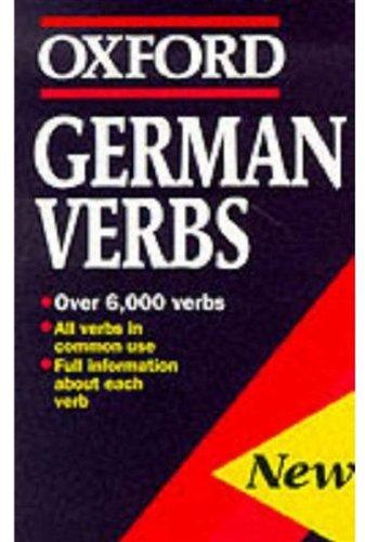German Verbs By William Rowlinson