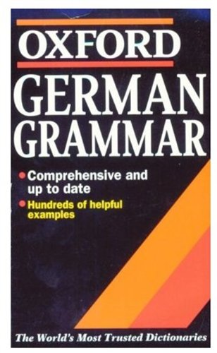 German Grammar By William Rowlinson