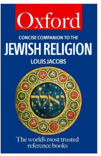 Concise Companion to the Jewish Religion By Louis Jacobs