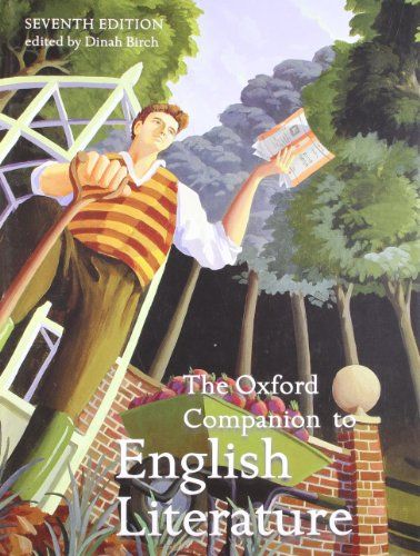 The Oxford Companion to English Literature By Edited by Dinah Birch