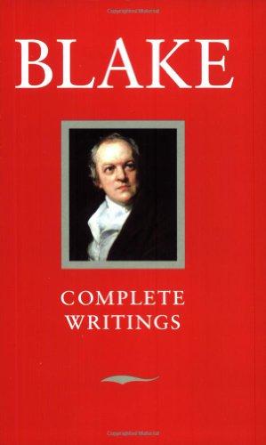 Blake Complete Writings By William Blake