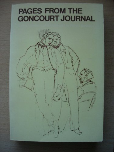 Pages from the Goncourt Journal By Edmond L.A.H.De Goncourt