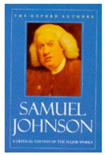 Selected Works by Samuel Johnson