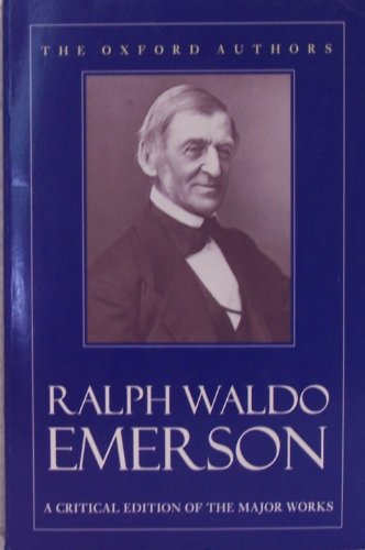 Selected Works (Oxford Authors S.) By Ralph Waldo Emerson