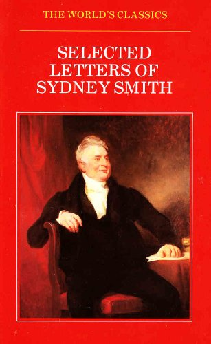 Selected Letters By Sydney Smith