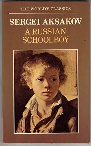 A Russian Schoolboy By Sergei Aksakov