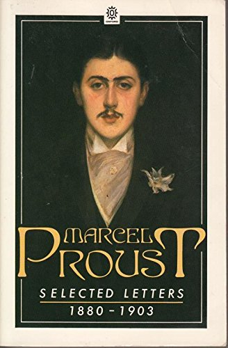 Selected Letters By Marcel Proust