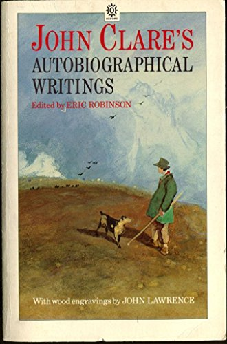 Autobiographical Writings By John Clare