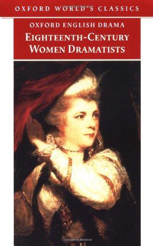 Eighteenth-century Women Dramatists By Mary Pix