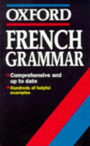 French Grammar By William Rowlinson