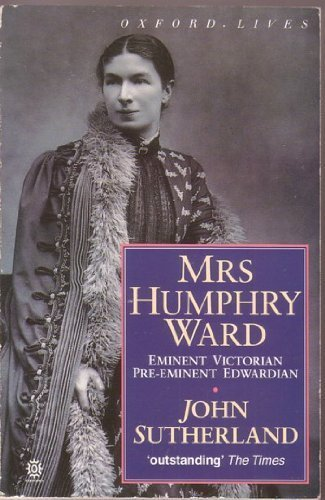 Mrs. Humphry Ward By J. A. Sutherland