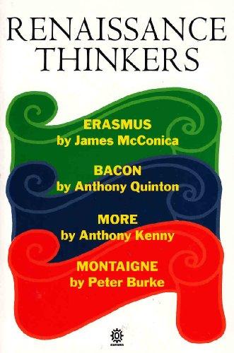 Renaissance Thinkers par James McConica