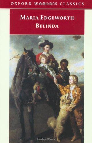 Belinda By Maria Edgeworth