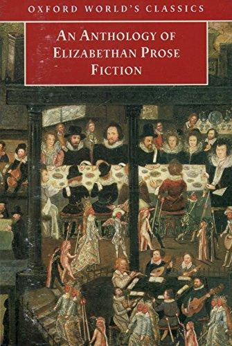 An Anthology of Elizabethan Prose Fiction By Edited by Dr Paul Salzman