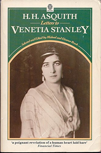 Letters to Venetia Stanley By H.H. Asquith
