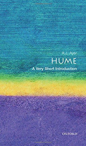 Hume: A Very Short Introduction By A. J. Ayer