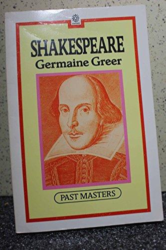 Shakespeare By Dr. Germaine Greer