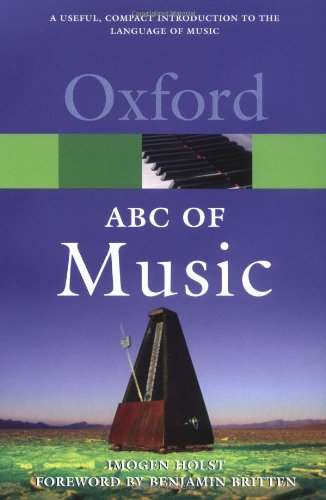 An ABC of Music (Oxford Paperback Reference) by Imogen Holst