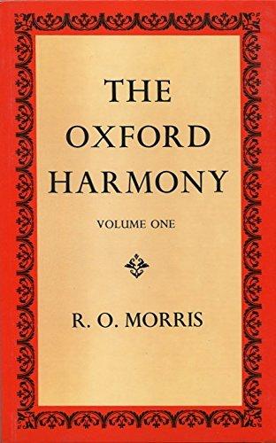 The Oxford Harmony By Reginald O Morris