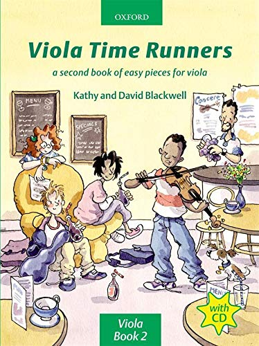 Viola Time Runners By Kathy Blackwell
