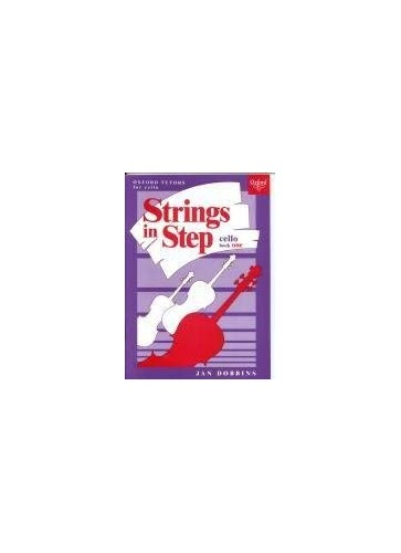 Strings in Step;Cello. Book 1 By Jan Dobbins
