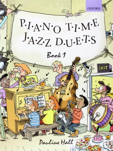 Piano Time Jazz Duets Book 1 By By (composer) Pauline Hall