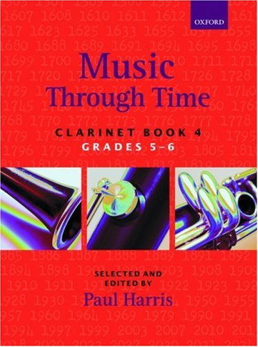 Music through Time Clarinet Book 4 By Arranged by (music) Paul Harris