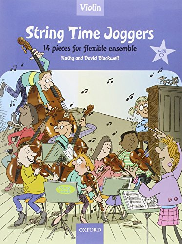String Time Joggers By Kathy Blackwell