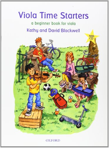 Viola Time Starters + CD By Kathy Blackwell
