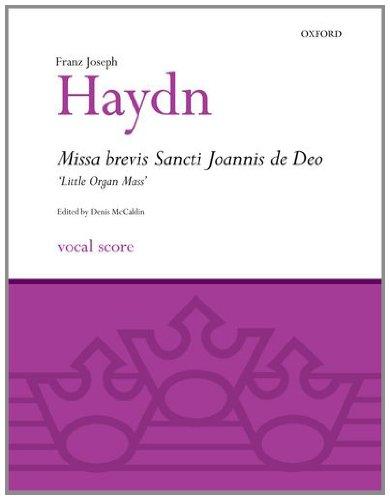 Missa brevis Sancti Joannis de Deo ('Little Organ Mass') By By (composer) Franz Joseph Haydn