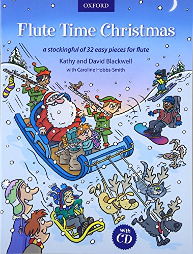 Flute Time Christmas + CD By Kathy Blackwell
