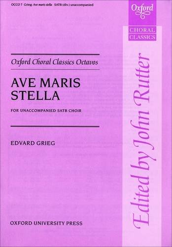 Ave maris stella By Edvard Grieg