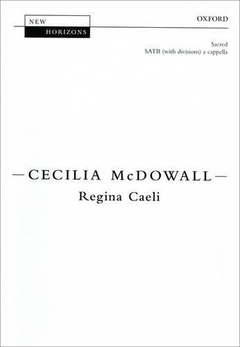 Regina Caeli By By (composer) Cecilia McDowall