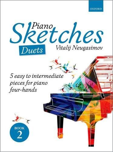 Piano Sketches Duets Book 2 By Vitalij Neugasimov