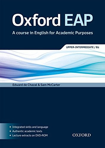 Oxford EAP: Upper-Intermediate/B2: Student's Book and DVD-ROM Pack By Sam McCarter