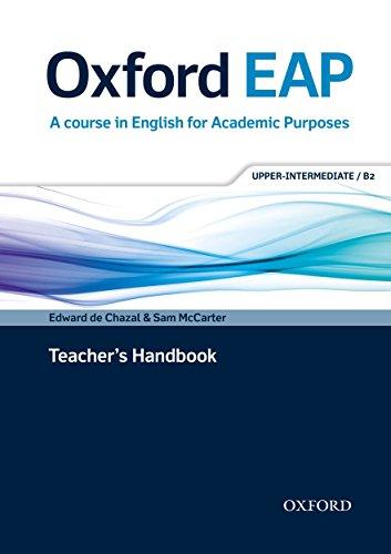 Oxford EAP: Upper-Intermediate/B2: Teacher's Book by