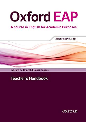Oxford EAP: Intermediate/B1+: Teacher's Book, DVD and Audio CD Pack by