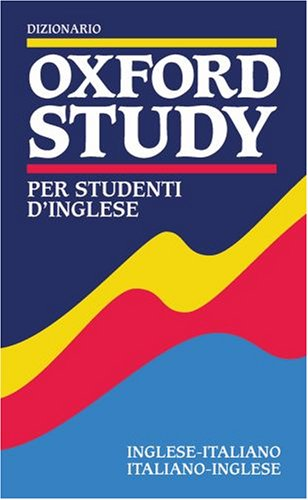 Dizionario Oxford Study Per Studenti D'Inglese By Colin McIntosh