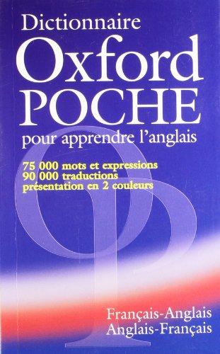 Dictionnaire Oxford Poche pour apprendre l'anglais (francais-anglais / anglais-francais) By Colin McIntosh