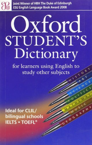Oxford Student's Dictionary By Oxford University Press