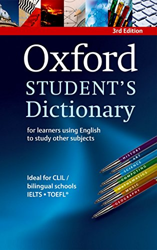 Oxford Student's Dictionary Paperback By Oxford University Press