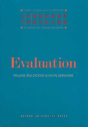 Evaluation By Pauline Rea-Dickins
