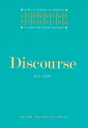 Discourse By Guy Cook