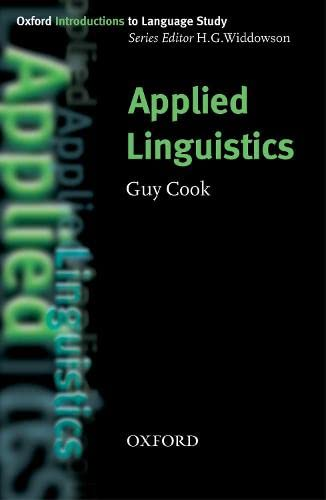 Applied Linguistics By Guy Cook